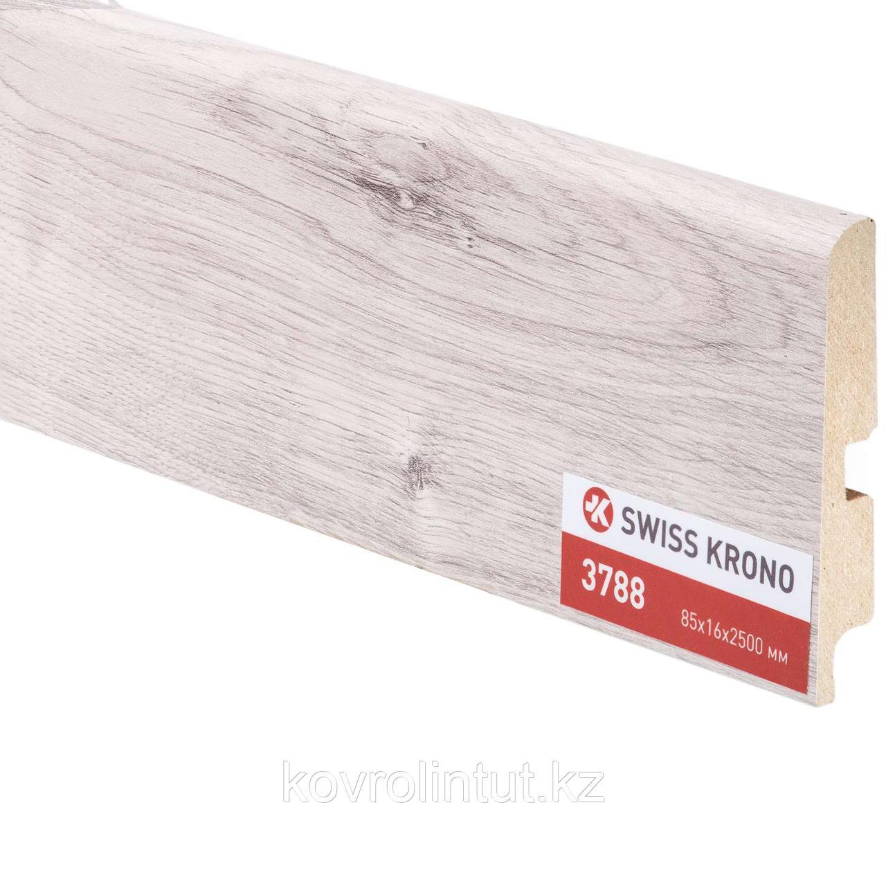 Плинтус Kronopol P85 3788 Atlantic Oak 2500х85х16мм