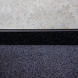 Плинтус для ковролина KORNER Listwa 109 черный 2,5м, фото 2