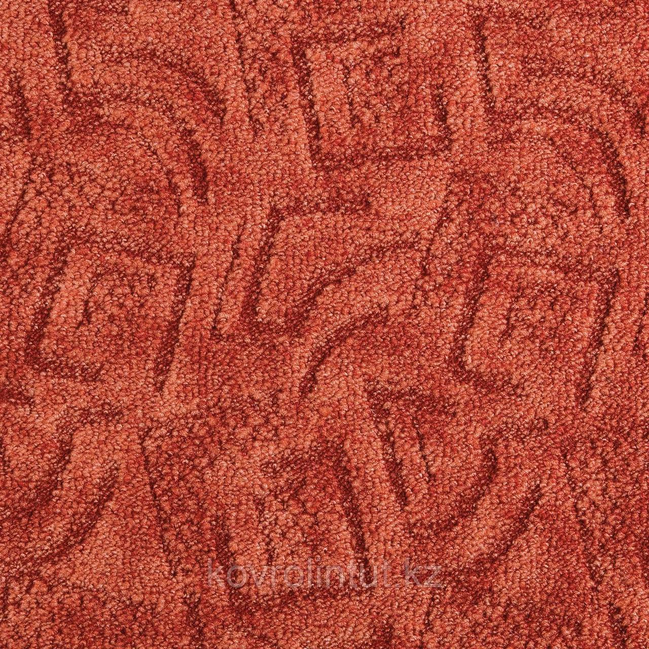 Покрытие ковровое Shape 64, 4 м, красный, 100% PA