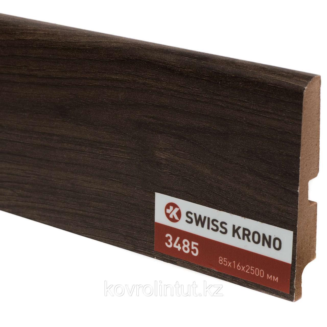 Плинтус Kronopol P85 3485, Boogie Elm, 2500х85х16мм, 9шт/уп
