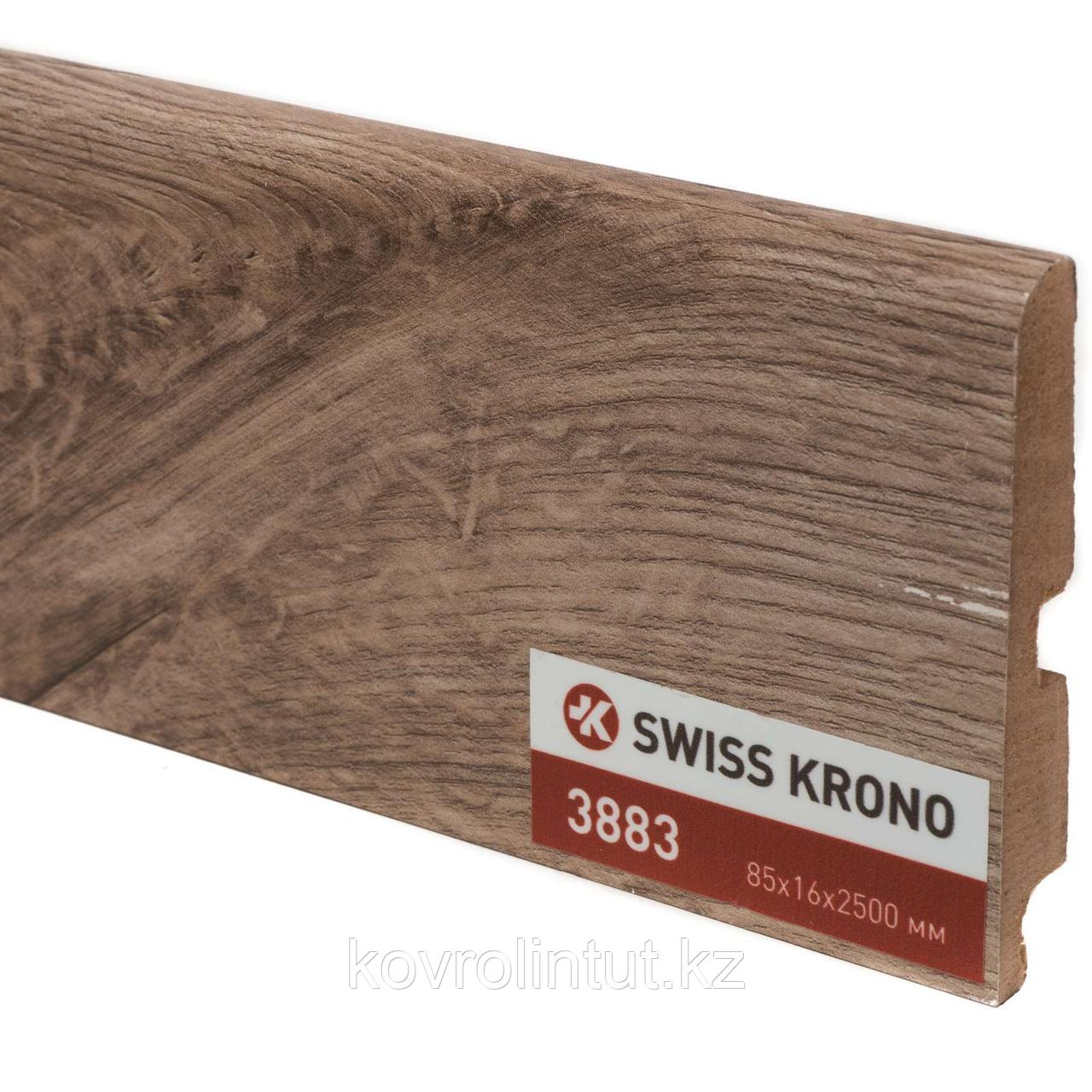 Плинтус Kronopol P85 3883 Piano Oak 2500х85х16мм