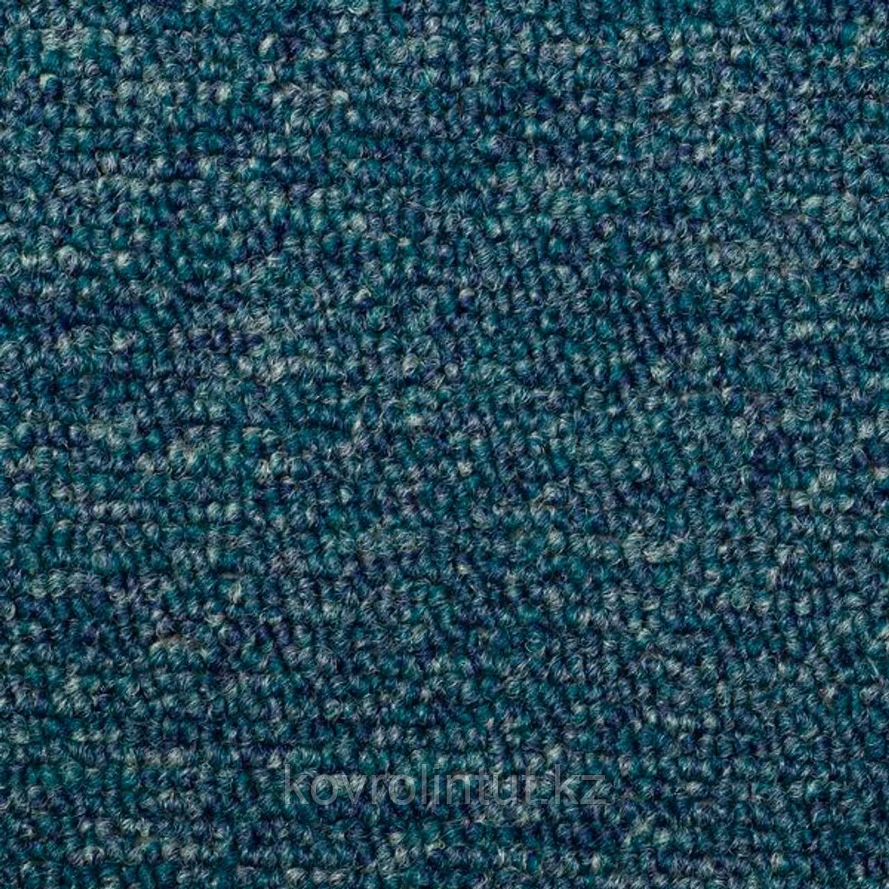 Коммерческое ковровое покрытие AW Medusa 70, 4 м, голубой, 100% SDN