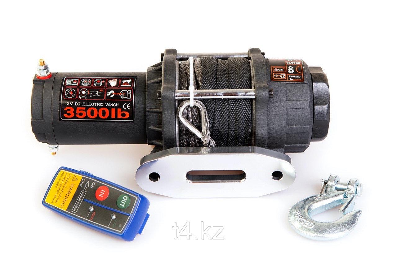 Лебёдка с кевларовым тросом для мото техники 1588 кг / 3500 lbs - LUKE WINCHES