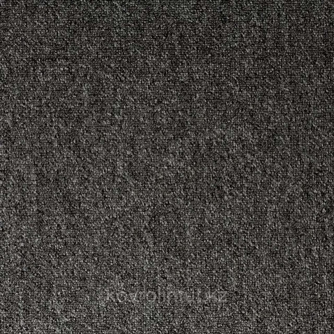 Покрытие ковровое Forza New 3927, 4 м, антрацит, 100%PP