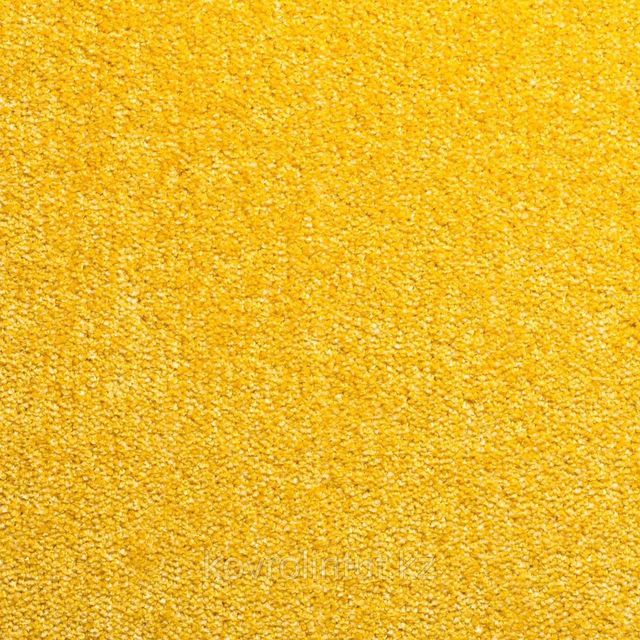 Ковровое покрытие Sintelon FESTA 99735 желтый 4 м