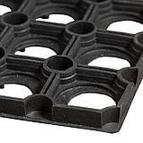 Коврик резиновый Ринго-мат 80х120 см, 16 мм, черный, фото 2