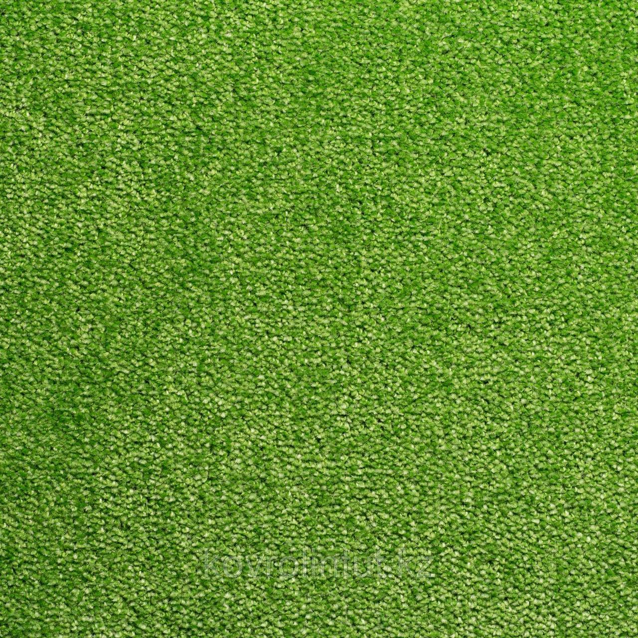 Ковровое покрытие Sintelon FESTA 55735 зеленый 4 м