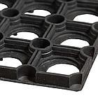 Коврик резиновый Ринго-мат 40х60 см, 16 мм, черный, фото 2