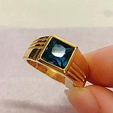 """Кольцо-перстень """"Топаз"""", фото 4"""
