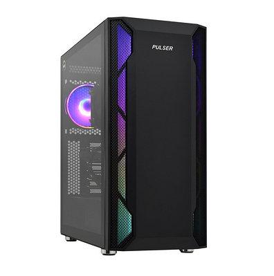 Персональный компьютер Core i3-9100F-3.6GHz/H310/RAM 16GB/SSD 240GB (M.2)/HDD 1000GB/RTX2060-6GB/no DVD/600W/