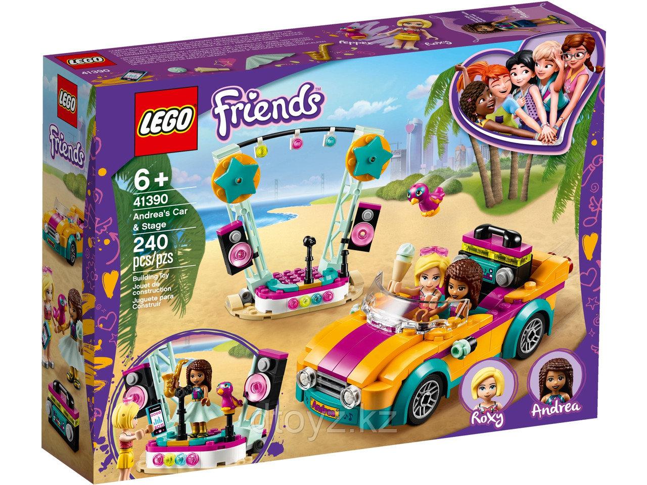 Lego Friends 41390 Машина со сценой Андреа