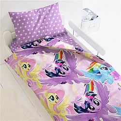 """Комплект постельного белья Little Pony """"Небесные пони"""""""
