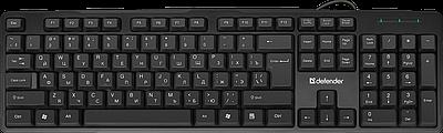 Клавиатура USB, Defender OSCAR SM-600 PRO RU, черный