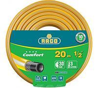 """'RACO COMFORT 1/2"""", 20 м, 30 атм, трёхслойный поливочный шланг, армированный"""