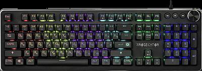 Клавиатура USB, Defender PROSECUTOR GK-370L, черный