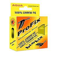 Леска плетёная Aqua ProFix Olive, d=0,06 мм, 100 м, нагрузка 3,5 кг