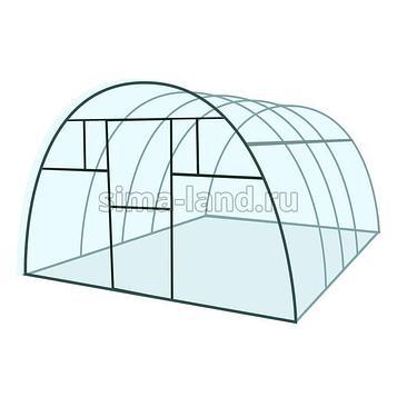 Каркас теплицы «Премиум», 8 × 3 × 2,1 м, металл, профиль 20 × 40 мм, шаг дуг 65 см, 1,5 мм, без поликарбоната