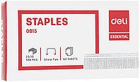 Скобы DELI для степлера №23/10 (50-70 листов) 500 шт/кор
