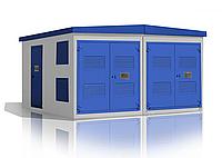 Комплектные трансформаторные подстанции в блочно-модульном здании типа БКТП 25-2500/10(6)-0,4 УХЛ1