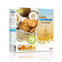 Кокосовое печенье  200 гр, Gaia