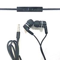 Наушники вакуумные с микрофоном BAVIN M-777