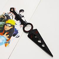 Игрушечное оружие Наруто кунай с ручкой цвет черный