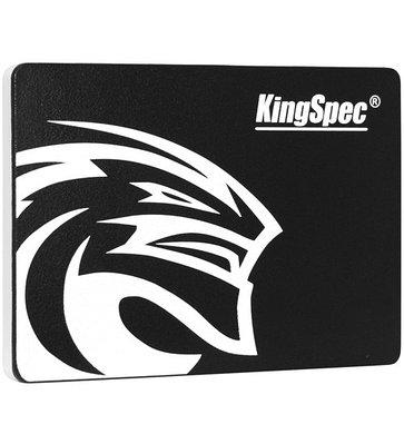 SSD SATA 480 GB KingSpec P4-480, SATA 6Gb/s черный накопитель