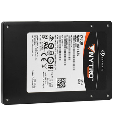 SSD SATA 480 GB Seagate Nytro 1551, XA480ME10063 черный накопитель