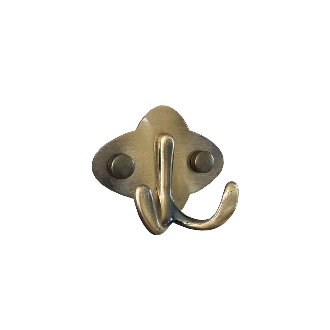 Крючок мебельный GL106 (бронза)
