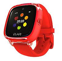 Смарт часы Elari KIDPHONE 4 FRESH красный