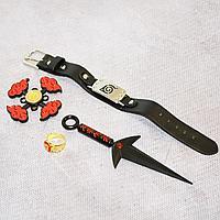 Игровой набор Наруто Кунай летящего бога кольцо браслет и спиннер