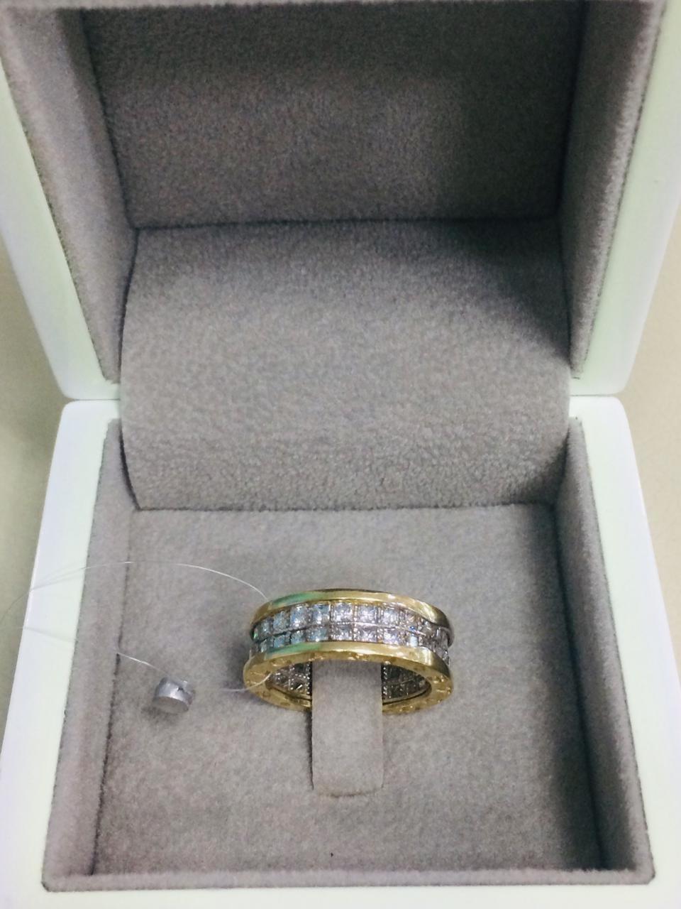 Кольцо /жёлтое золото - 18 размер