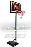 Мобильная баскетбольная стойка SLP Standard-003F