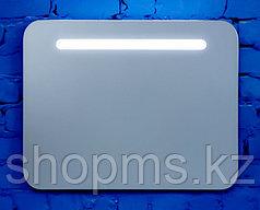 Зеркало с вн. подсветкой откр. короб из ЛДСП Новая Грань 0630 с крепл. СЕНСОР (800*600)