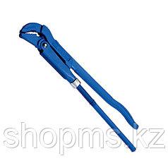 Ключ трубный рычажный, 405 х 37 мм, с изогнутыми губками// СИБРТЕХ