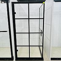 Душевая кабина стеклянная без поддона перегородка 1000*1000*1900