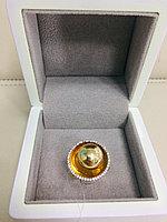Кольцо / жёлтое золото - 18,5 размер