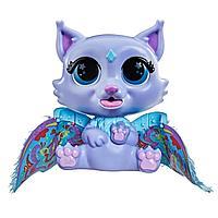 Hasbro FurReal Friends Интерактивная игрушка «Крылатые милашки. Котёнок Флиттер»