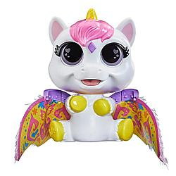 Hasbro FurReal Friends Интерактивная игрушка «Крылатые  милашки. Единорог Айрина»