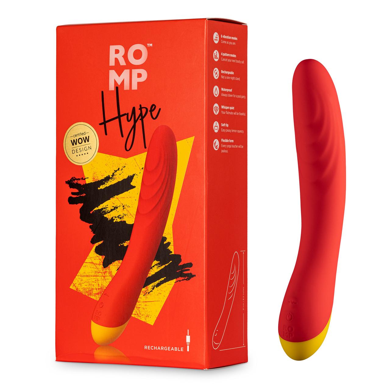 """Вибратор для точки G """"Romp Hype"""""""