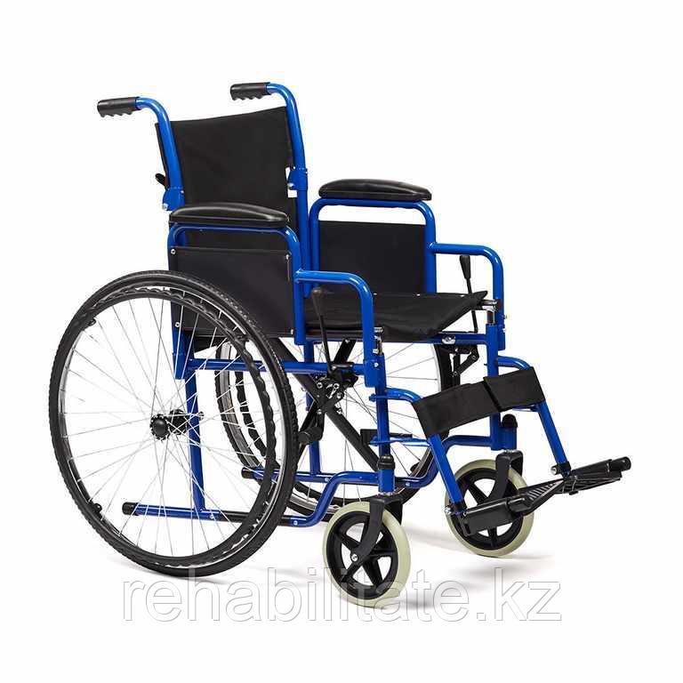 Кресло-коляска инвалидное, литые колеса Н035-46