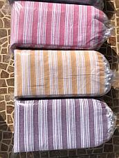 Простынь-Полотенце для сауны Пештемаль 100*180 Турция (полоска), фото 2