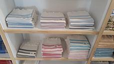 Простынь-Полотенце для сауны Пештемаль 90*160 Турция (полоска), фото 3
