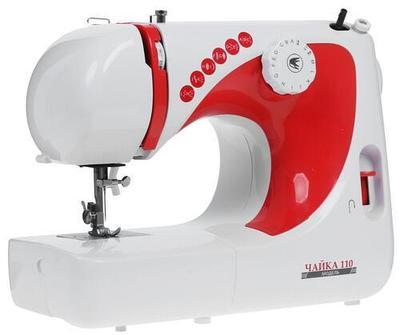 Швейная машина Chayka 110 бело-красная