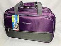 Дорожная сумка среднего размера. Высота 30 см, ширина 50 см, глубина 22 см., фото 1