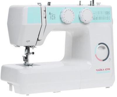 Швейная машина Chayka Чайка 425М бело-голубая