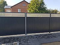 Стильное модульное ограждение (модульный забор) Grand Line