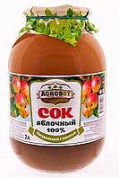 Сок Яблочный, с мякотью Agros BT, 2,0 л.