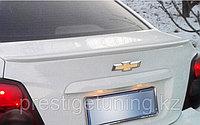 Спойлер на багажник Chevrolet Aveo 2011-15, фото 1