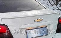 Спойлер на багажник Chevrolet Aveo 2011-15